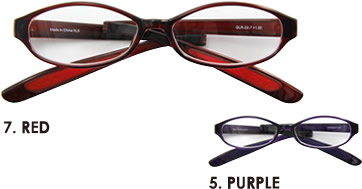 7.RED  5.PURPLE