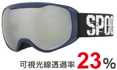 4.F:Shiny NAVY  L:SMOKE/SILVER mirror