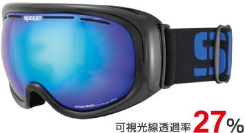 1.F:Shiny BLACK<br />   L:SMOKE /BLUE Revo mirror